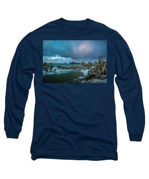 Passing Storm, Mono Lake Long Sleeve T-Shirt