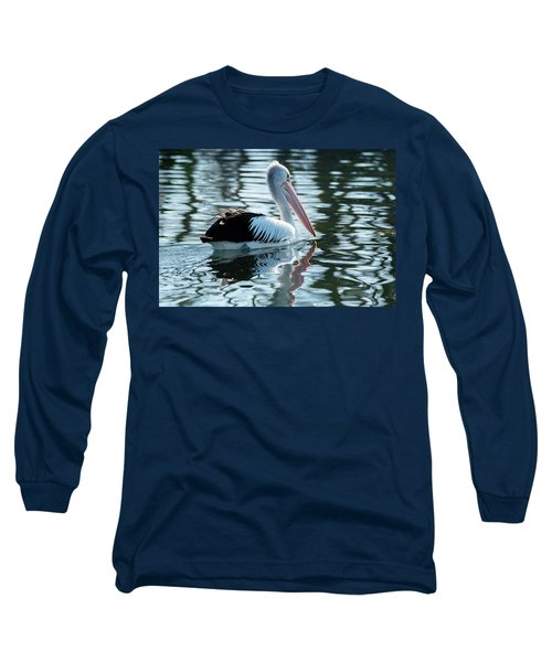 Pelican On The Lake Long Sleeve T-Shirt