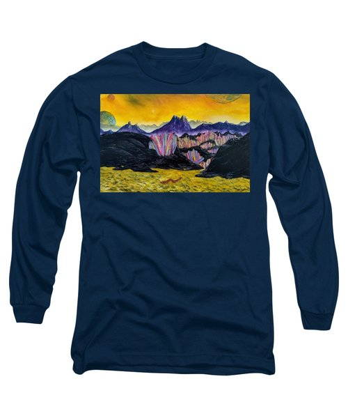 Rainbow Fries And Centipedes Somewhere In The Multiverse Long Sleeve T-Shirt