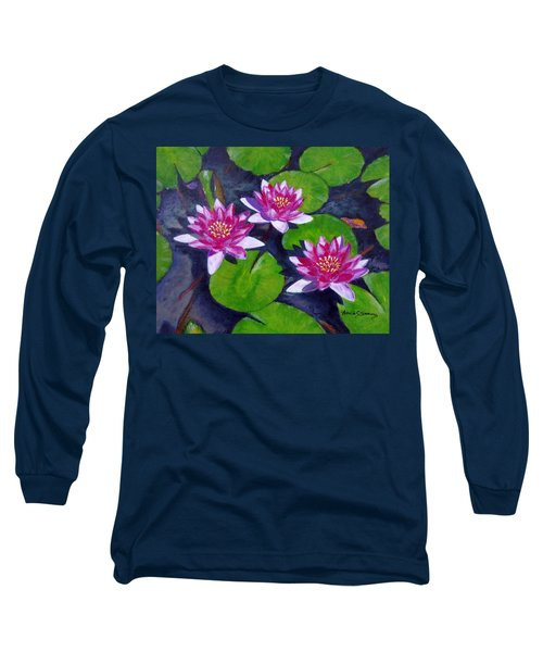 Rancho Water Lilies Long Sleeve T-Shirt