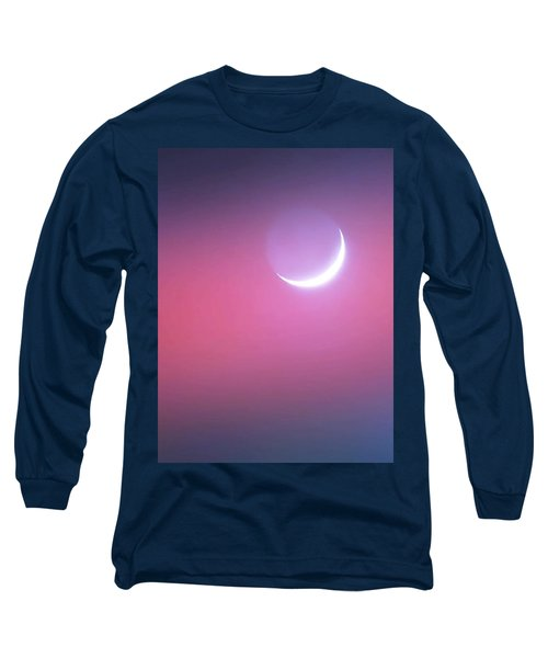 Long Sleeve T-Shirt featuring the photograph Sagitarrius Waxing Moon 2 by Judy Kennedy