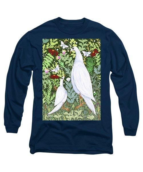 Sapientes Pacis Birds Long Sleeve T-Shirt