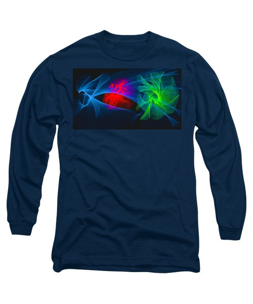 Shapes And Colours #i1 Long Sleeve T-Shirt