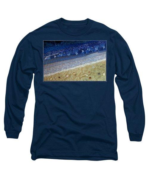She Sews Seashells On The Seashore Long Sleeve T-Shirt