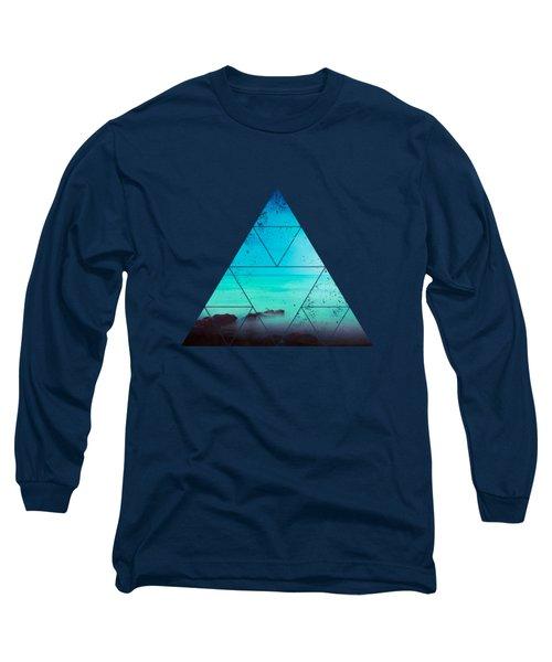 Silent Mediterranean Sea Long Sleeve T-Shirt