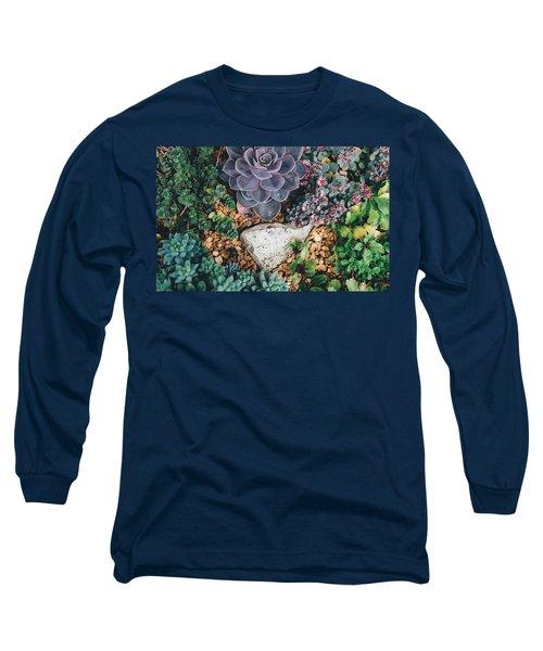 Small Succulent Garden Long Sleeve T-Shirt