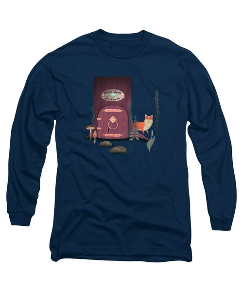 Sorcerer Of Woodland Charms Potions Spells And Fortunes Long Sleeve T-Shirt