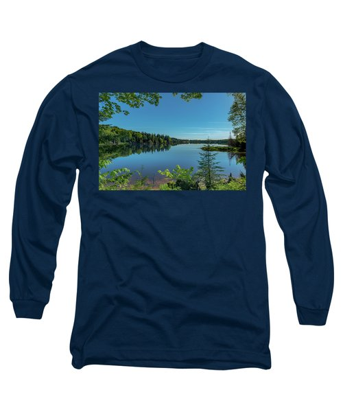 Spring Morning On Grand Sable Lake Long Sleeve T-Shirt