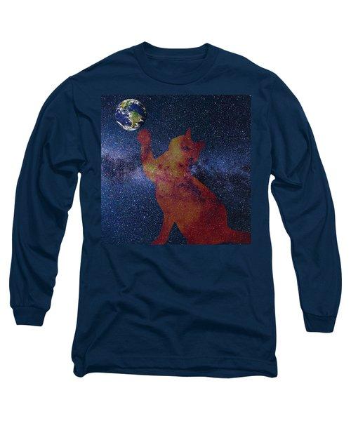 Star Cat Long Sleeve T-Shirt