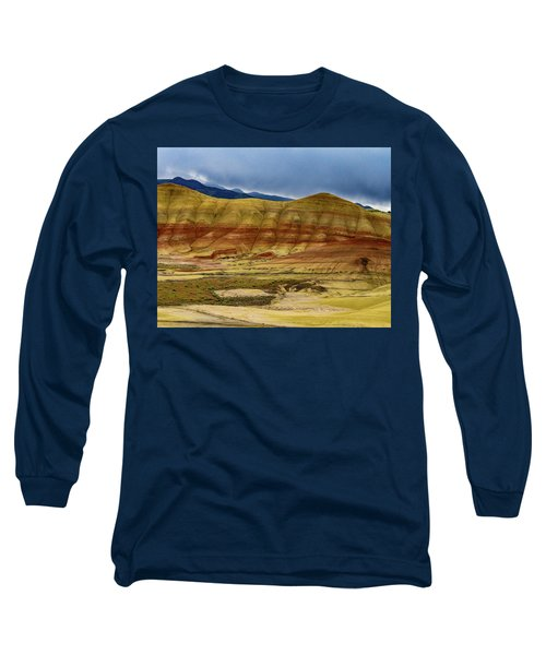 Storm Over Painted Hills Long Sleeve T-Shirt