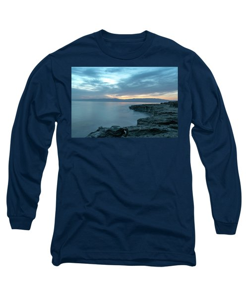 Before Dawn At The Dead Sea Long Sleeve T-Shirt