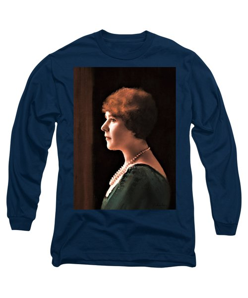 The Pearl Necklace Long Sleeve T-Shirt