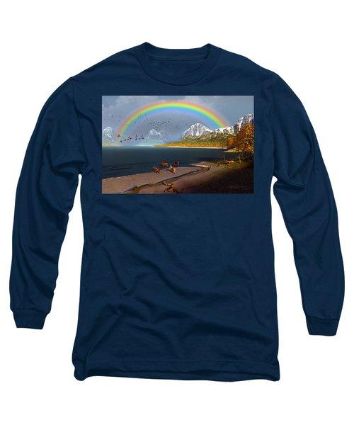 The Rings Of Eden Long Sleeve T-Shirt