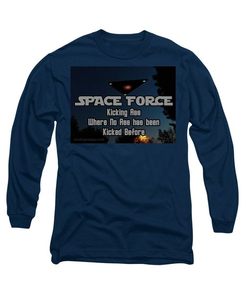 The United States . Space Force Long Sleeve T-Shirt