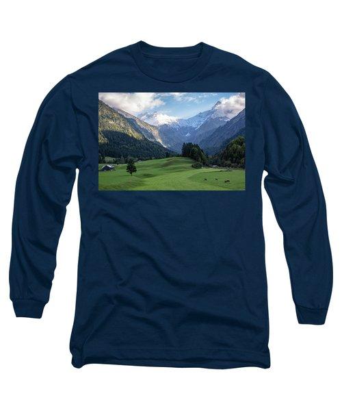 Trettachtal, Allgaeu Long Sleeve T-Shirt