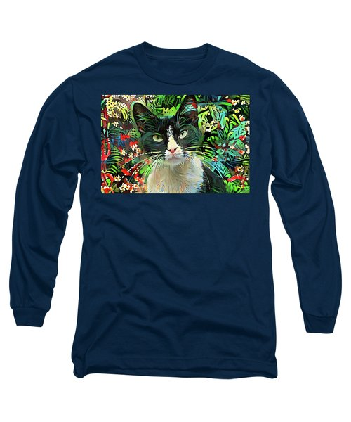 Tucker The Tuxedo Cat Long Sleeve T-Shirt