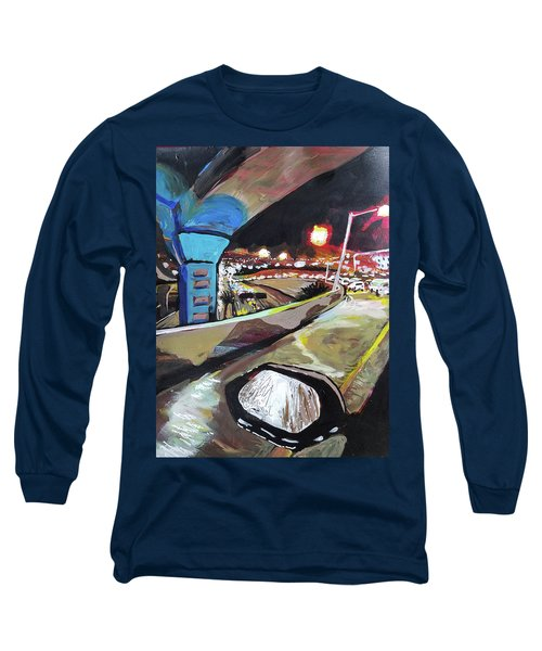 Underpass At Nighht Long Sleeve T-Shirt