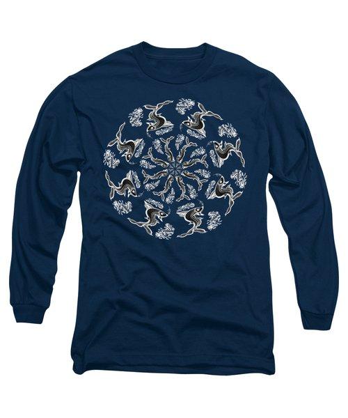 Rhythm Inside The Fish Kingdom Long Sleeve T-Shirt