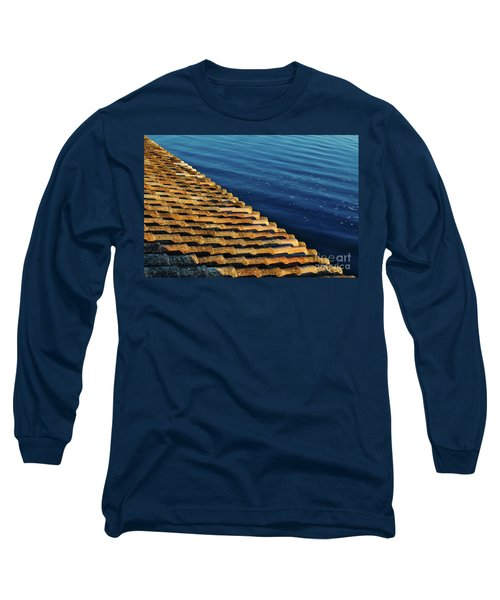 View Of The River From The Rooftop. Algarve Long Sleeve T-Shirt