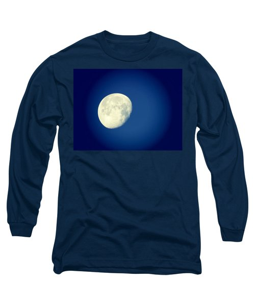 Long Sleeve T-Shirt featuring the photograph Virgo Moon Three Quarters by Judy Kennedy