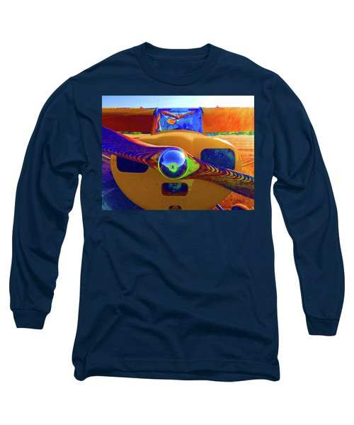 Wooden Prop Long Sleeve T-Shirt