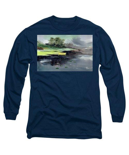 Yellow Boat Long Sleeve T-Shirt