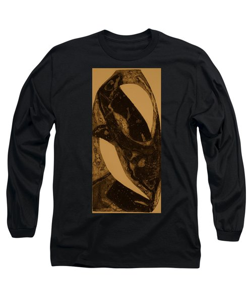Long Sleeve T-Shirt featuring the painting  A Fungus by Erika Chamberlin