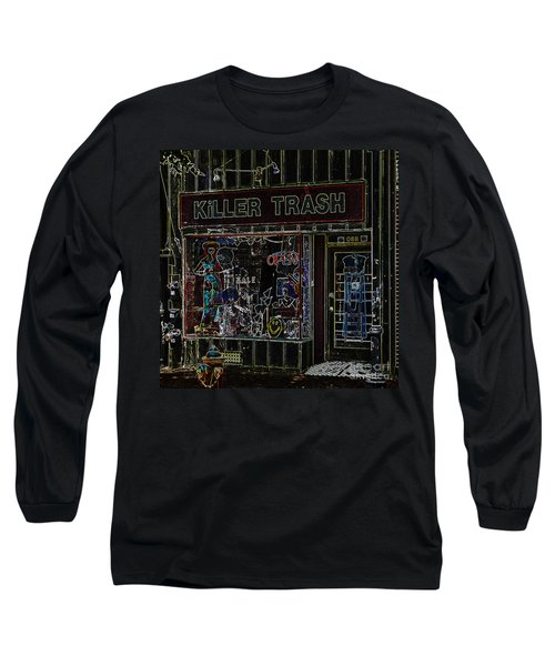Baltimore Storefront Impression Long Sleeve T-Shirt