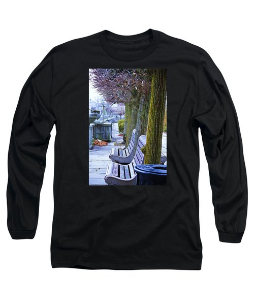 Long Sleeve T-Shirt featuring the photograph  Colours In The Park by Al Fritz
