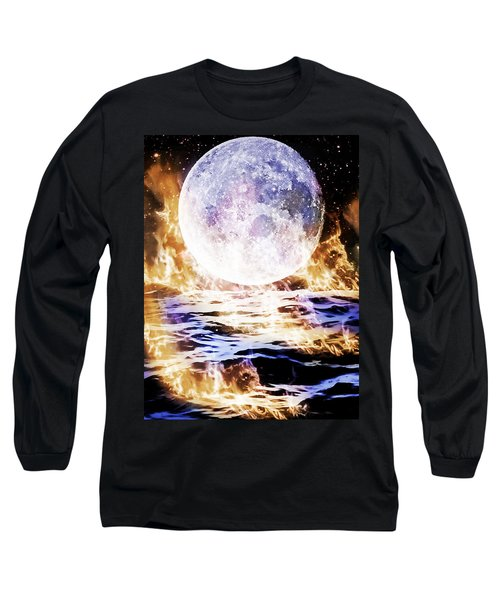 Emotions On Fire Long Sleeve T-Shirt