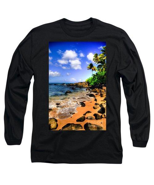 Laniakea Beach Long Sleeve T-Shirt by Kelly Wade