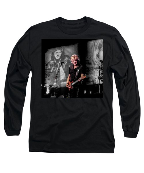 Lifetime In Music Long Sleeve T-Shirt by Ray Congrove