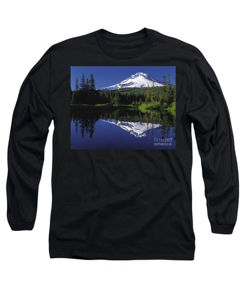 Long Sleeve T-Shirt featuring the photograph  Mount Hood Oregon  by Paul Fearn