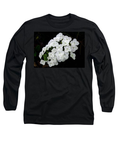 Oak Leaf Hydrangea Long Sleeve T-Shirt