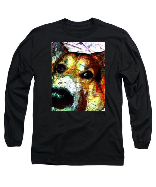 Pembroke Welsh Corgi Long Sleeve T-Shirt by Alene Sirott-Cope