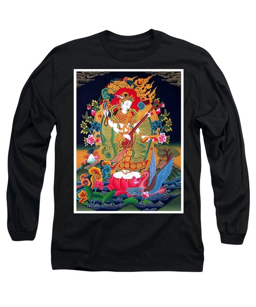 Saraswati 3 Long Sleeve T-Shirt