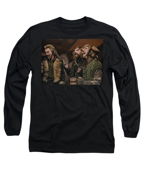 The Hobbit And The Dwarves Long Sleeve T-Shirt