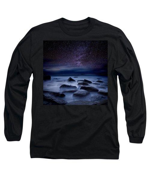 Where Dreams Begin Long Sleeve T-Shirt by Jorge Maia
