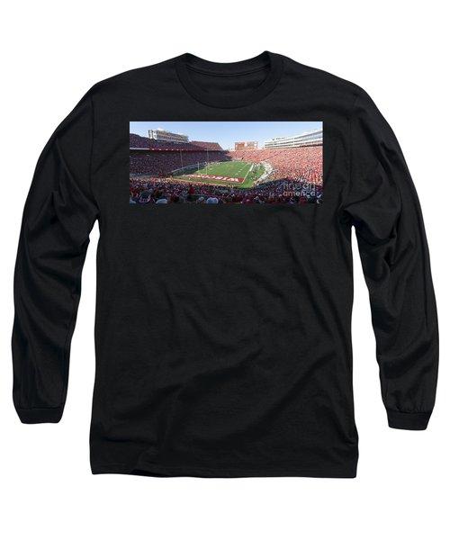 0251 Camp Randall Stadium - Madison Wisconsin Long Sleeve T-Shirt