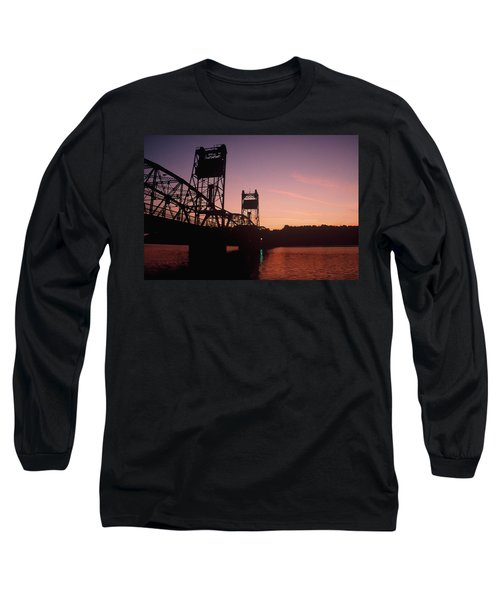 0364 Stillwater Minnesota Bridge Long Sleeve T-Shirt