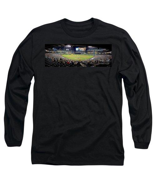 0434 Safeco Field Panoramic Long Sleeve T-Shirt