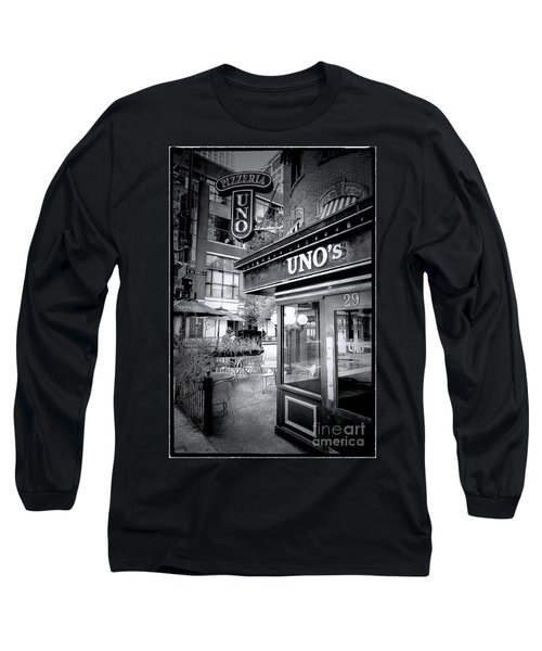 0748 Uno's Pizzaria Long Sleeve T-Shirt