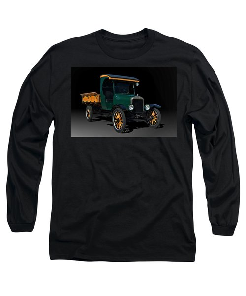 1923 Ford Model Tt One Ton Truck Long Sleeve T-Shirt by Tim McCullough