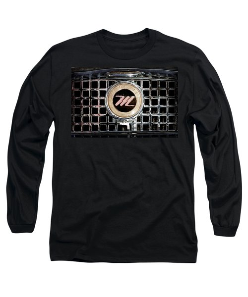 1958 Nash Metropolitan Grille Emblem Long Sleeve T-Shirt