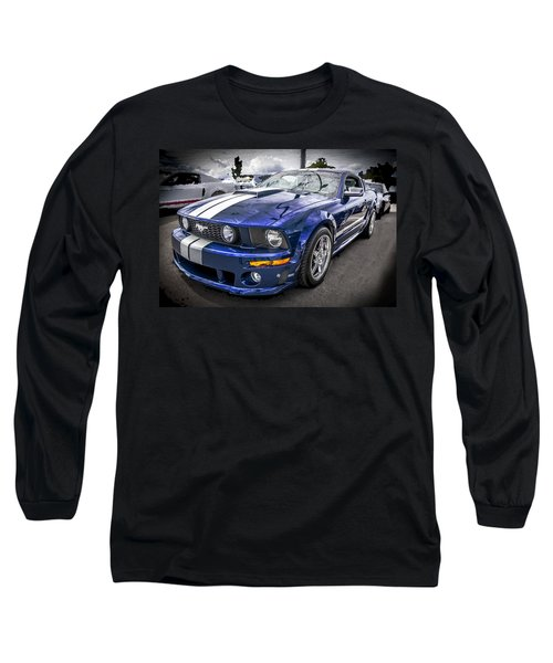 2008 Ford Shelby Mustang With The Roush Stage 2 Package Long Sleeve T-Shirt