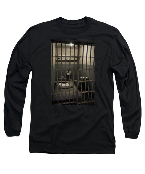 A Cell In Alcatraz Prison Long Sleeve T-Shirt