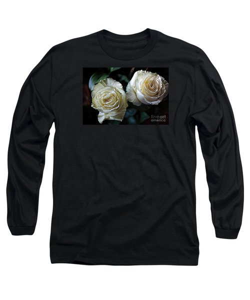 Long Sleeve T-Shirt featuring the photograph A Perfect Pair by Diana Mary Sharpton