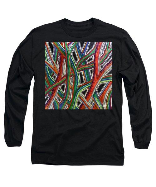 Aboriginal Inspirations 8 Long Sleeve T-Shirt
