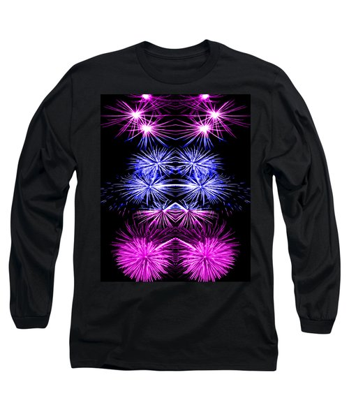 Abstract 135 Long Sleeve T-Shirt