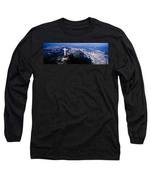 Aerial, Rio De Janeiro, Brazil Long Sleeve T-Shirt